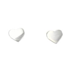 Silberohrstecker Herz