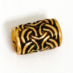 "Bronze Bartperle Keltischer Knoten ""Imar"""