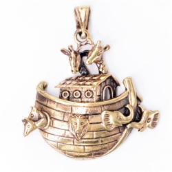 Bronzeanhänger - Arche Noah