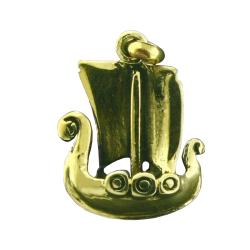 Bronzeanhänger - Wikingerschiff