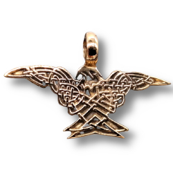 Bronzeanhänger - Adler