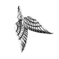925 Sterling Silberanhänger - Engelsflügel...