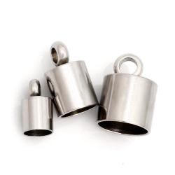 3 mm Edelstahl Endkappe