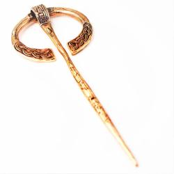 Keltische Ringfibel aus Bronze