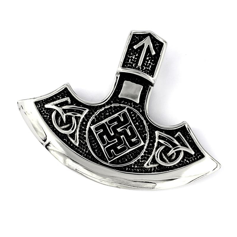 Edelstahlanhänger Keltisches Symbol Nach Indischem Vorbild