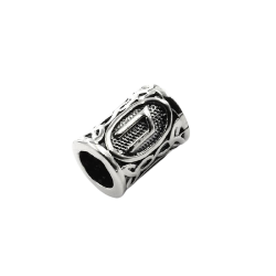 925 Sterling Silber Bartperle - Futhark URUZ