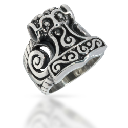 925 Sterling Silver Ring - Thors Hammer