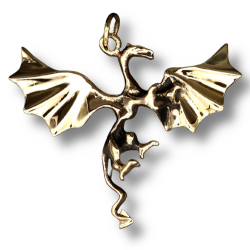 Bronzeanhänger  Drachen