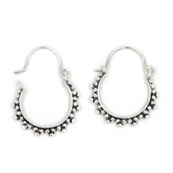 Silberohrschmuck - Perlen