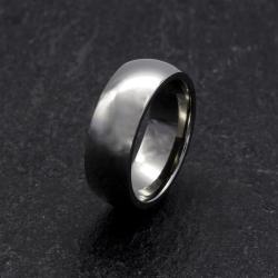 Titanring/klassisch/poliert (7 mm)