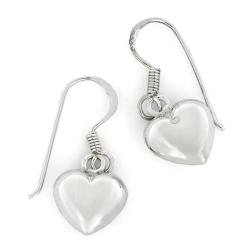 Silberohrringe - Herzen