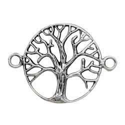 Silberanhänger - 925 Sterling Silber - Baum des Lebens