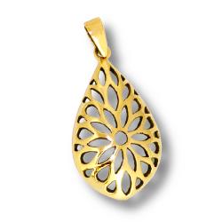 Bronzeanhänger  Blumen