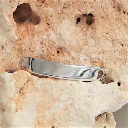 Silbergravurplatte aus 925 Sterling Silber