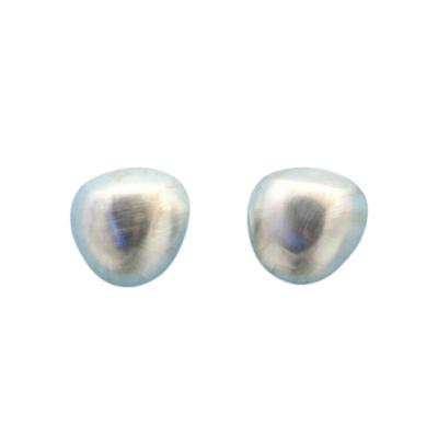 Silberohrringe - Halbkugeln