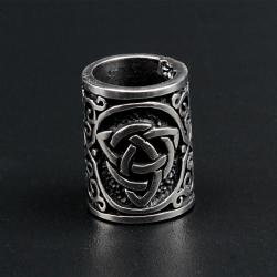 925 Sterling Silber Bartperle - Triquetra