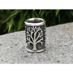 925 Sterling Silber Bartperle - Lebensbaum