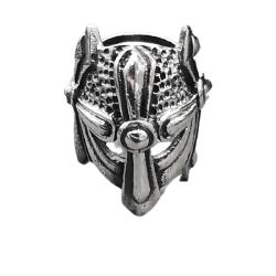 925 Sterling Silber Bartperle - Wikinger Helm