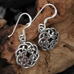 """Silberohrschmuck keltischer Knoten """"Juna"""" aus..."""