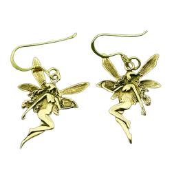 Bronze Ohrringe - Fee