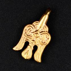 Mittelalter Fibel - Bronze