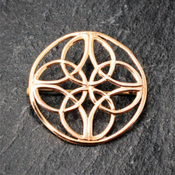 Bronze Brosche - Ornamente