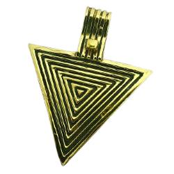 Bronzeanhänger - Dreieck