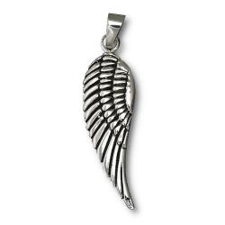 925 Sterling Silberanhänger - Engelsflügel