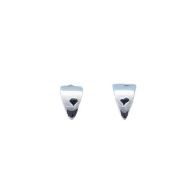 Silberohrringe - Ohrstecker Dreiecke