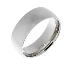 Edelstahlring - 9 mm poliert