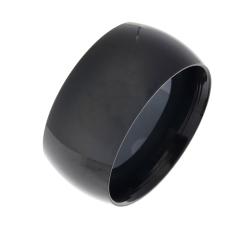 Edelstahlring - 9 mm mit schwarzer PVD-Beschichtung