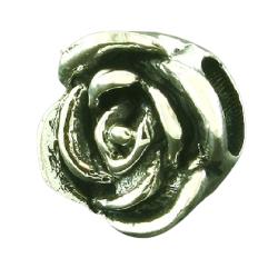 K Bead aus Sterlingsilber - Rose