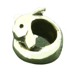 K Bead aus Sterlingsilber - Delfin