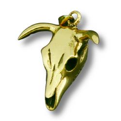 Bronzeanhänger - Stierkopf