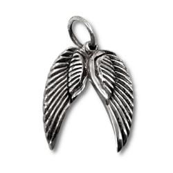 925 Sterling Silberanhänger - Flügel...