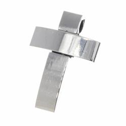 """Edelstahlanhänger - Kreuz """"Zefir"""""""
