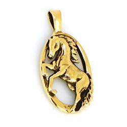 Bronzeanhänger- Pferd