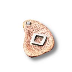 Bronzeanhänger mit Rune aus 925er Sterling Silber -...