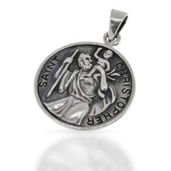 925 Sterling Silberanhänger -  Schutzanhänger...