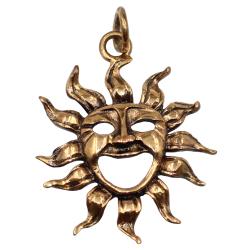 Bronzeanhänger - Sonne