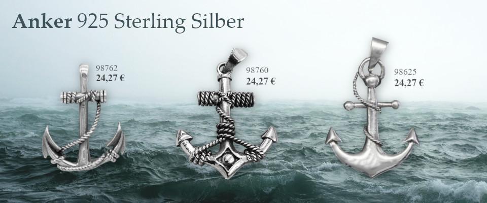 Anker Silberanhänger
